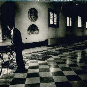 63 Quartetto1984 Paolo De Grandis Is It About A Bicycle Di Joseph Beuys 1985 Foto Di Maria Mulas