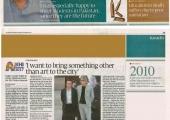 Karachi Tribune - Article on Paolo De Grandis